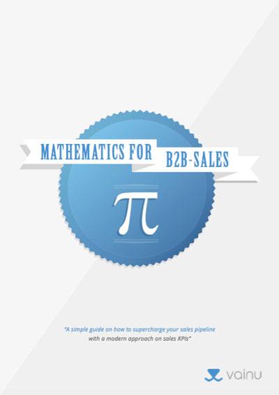 Mathematics for B2B Sales