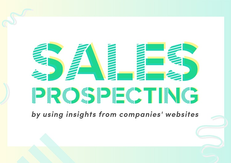 Sales Prospecting Guide: Using Insights from Companies' Websites
