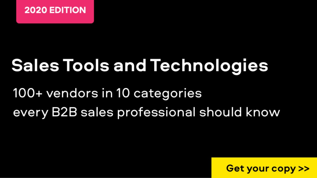 The Best B2B Sales Tools and Technologies in 2019